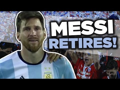 Lionel Messi RETIRES From International Football | Internet Reacts
