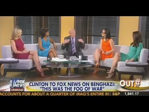 BENGHAZI: Fox News Uses Short Skirts & Terry Bradshaw
