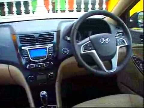 Hyundai Verna Fluidic 2011 Interior Test Drive Youtube