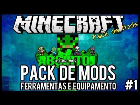 Pack de Mods #2 - 1.5.2 - Ferramentas e Equipamentos Minecraft =]