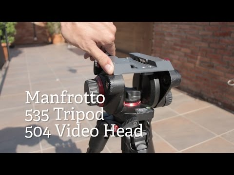 Manfrotto 535 Tripod and 504hd Video Head Review (1/2)