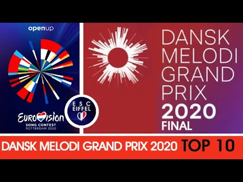 DENMARK 2020 : Dansk Melodi Grand Prix (Final) | TOP 10