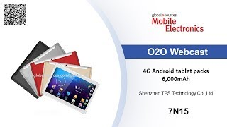 4G Android tablet packs 6,000mAh - Mobile Electronics show