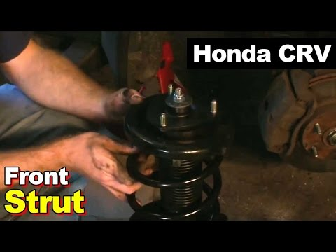 2003 Honda CRV Front Strut Replacement