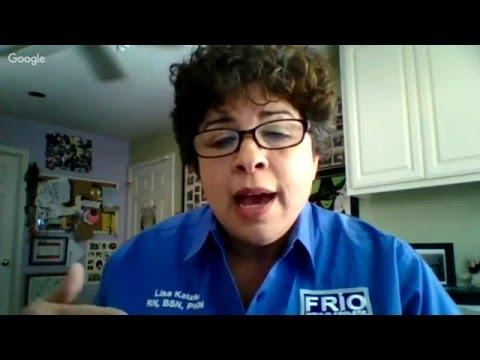 Live Interview with Lisa Katzki on Disaster Preparedness, Diabetes and Frio!
