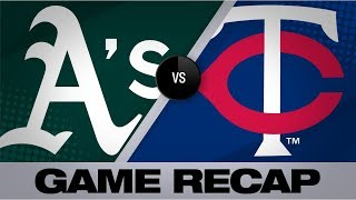 Kepler walks off to give Twins a comeback win | Athletics-Twins Game Highlights 7/21/19