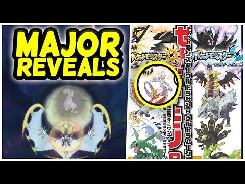 MAJOR NEWS revealed in USUM Interview + English Trailer Coverage! (Pokémon Ultra Sun and Moon)