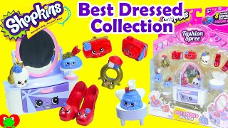 Shopkins Best Dressed Collection Playset Season 3 Fashion Spree