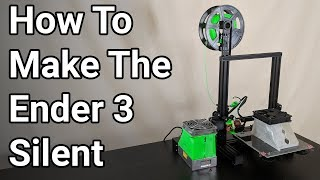 Fixing The Fan Noise on a Stock and a Modified Ender 3