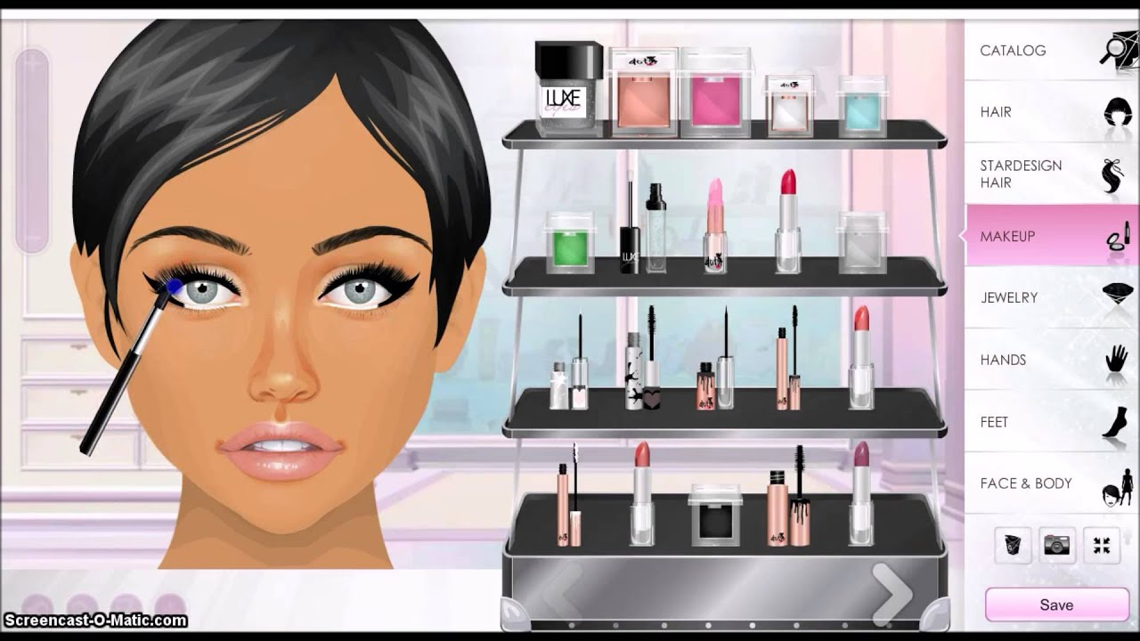 Stardoll Makeup Tutorial