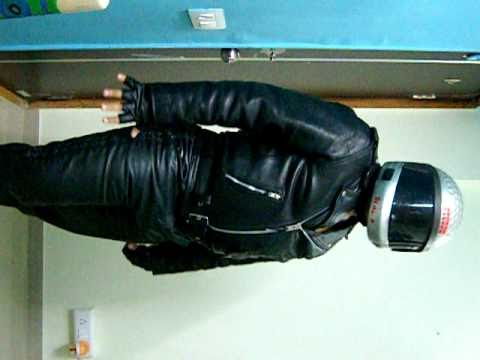 Chubby Leather Biker Man video
