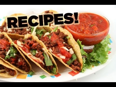 Unique Tacos: Recipes for Interesting & Different Tacos (Click link in Desc for Playlist)