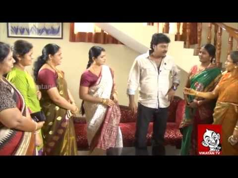 Archana fans threatens Selvam – Thirumathi Selvam shooting spot