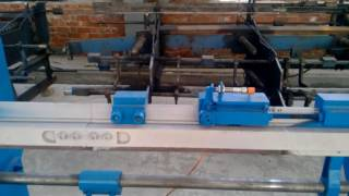 Testing Video of wire straightening and cutting machine& &wire stretch machine clip