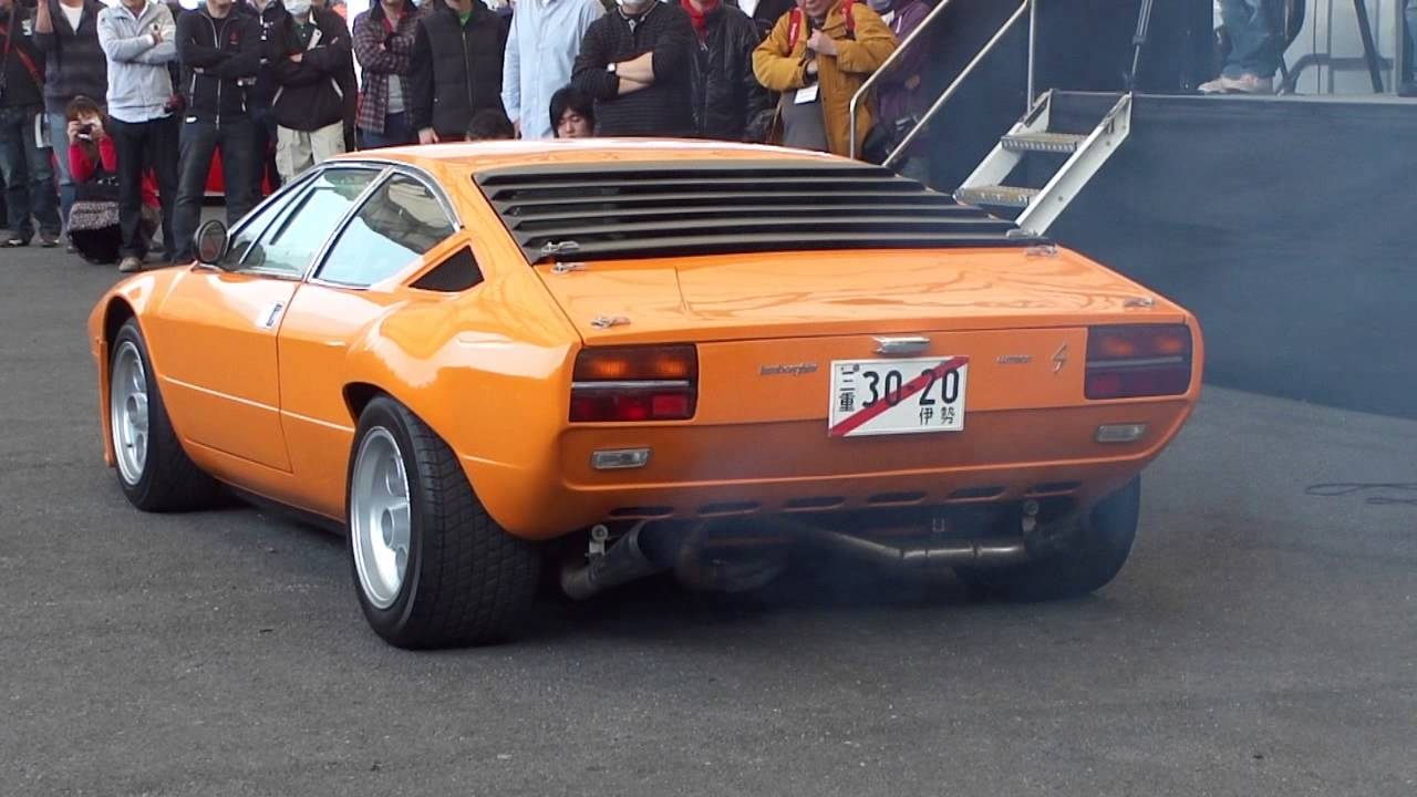 Lamborghini Urraco Rally V8 Exhaust Youtube