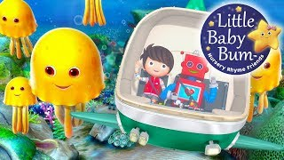 Ten Little Animals | From The Sea | Nursery Rhymes | By LittleBabyBum!