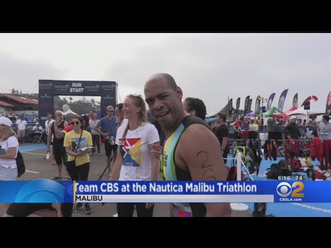 Team CBS Takes On Malibu Triathlon For Good Cause