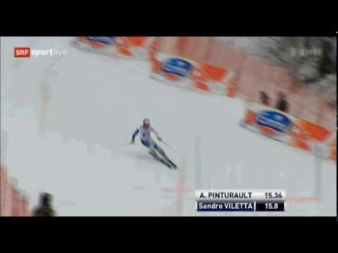 Super Combined Wengen 2014 | Sandro Viletta | Run 1