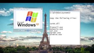 Install and Play XP classic games on a Windows 7 computer