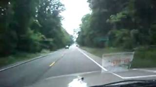 Dashcam Ryan Dunn Jackass crash site