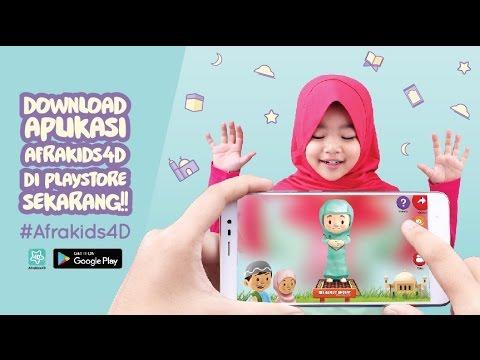 Afrakids4D Inovasi Kaos Anak Muslim