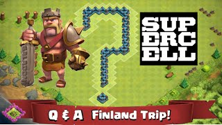 Clash of Clans Attacks - Q & A for Galadon and Peter - and a Trip!