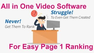 Video Software For Easy Page 1 Ranking Unlimited Free Traffic - Make Money Online At Home