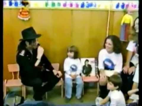 Michael Jackson visits an Orphanage in Bucharest, Romania 1992