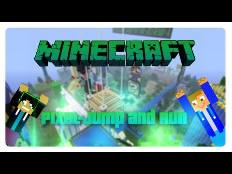 Minecraft Adventuremap [1.8] Pixel Jump and Run [53500+Downloads]