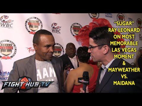 Sugar Ray Leonard expects more punches  a knockdown in Mayweather vs Maidana 2