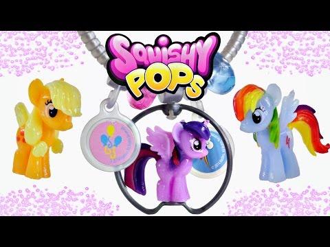 My Little Pony Surprise Squishy Pops MLP Fashion Bracelets Pinkie Pie Twilight Sparkle Rainbow Dash