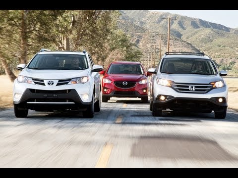 Toyota RAV4 vs Honda CR-V vs Mazda CX-5 | Compact Crossover Comparison
