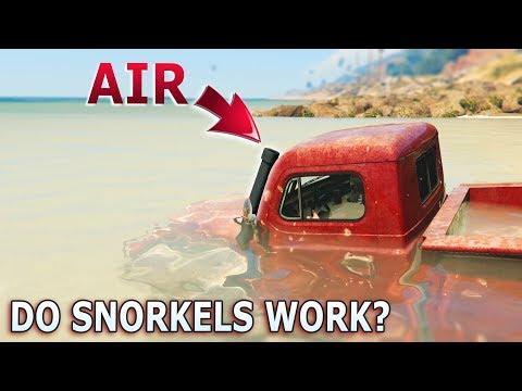 GTA V - Do car Snorkels Work?