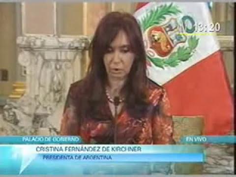 Gratitud Argentina Hacia  Peru en La Guerra de Malvinas