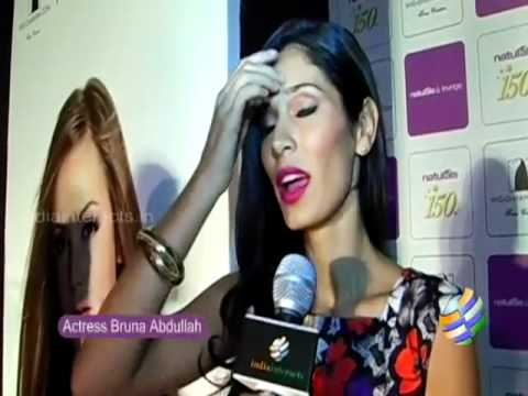 Bruna Abdullah at 'Naturals Lounge' fashion show