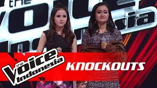 Virza vs Anis | Knockouts | The Voice Indonesia GTV 2018