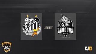 Liga Diamante #3 (Rodada 3) - Santos Dex VS Black Dragons e-Sports