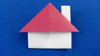 Casetta Origami Con Cappa Del  Camino ,house Origami , 
