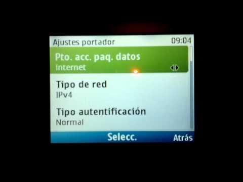 Configurar Internet Nokia C3 Movistar. Movilnet. Digitel Venezuela