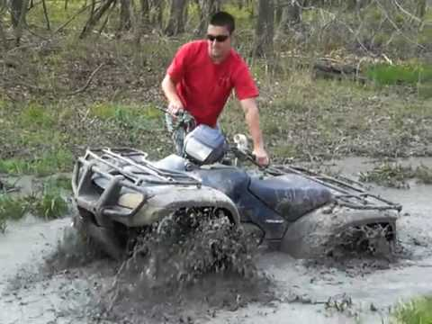 Honda Foreman 500 with 28'' Maxxis Mud Bugs