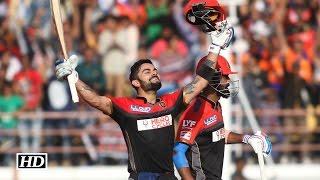 IPL 9 RCB vs GL: Virat Kohli's maiden T20 century | 100 off 63 balls