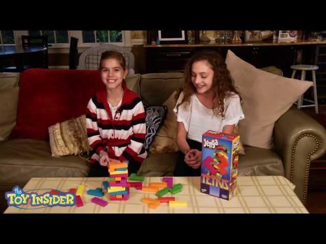 Tetris Jenga-- Toy Insider Kids Review
