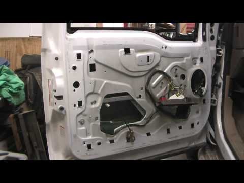 Replacing a Power Lock on a Ford Excursion