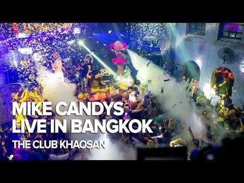 Mike Candys Live In Bangkok at The Club Khaosan