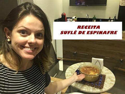 RECEITA SUFLÊ DE ESPINAFRE - COZINHA PRÁTICA DAS 8 AS 18H