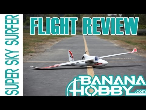 Super Sky Surfer BlitzRCWorks   Flight Review   Sailplane & Glider