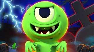 Zombie Had A Little Monster | NEW | Funny Zombie Songs For Kids | All Babies Channel