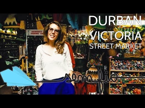 DURBAN - Victoria Street Market, tradicional e sinistro | Sem Fio.tv