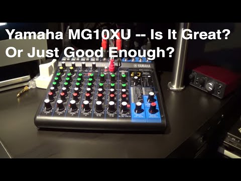Home Studio - Yamaha Mixer - Quick Review