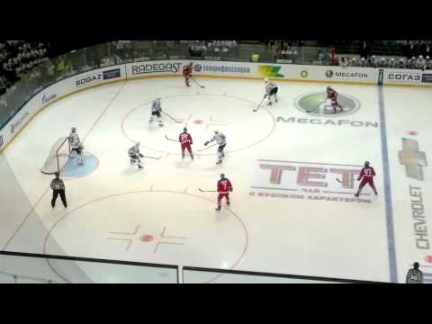 KHL (3. finále): Lev Praha - Magnitogorsk 3:2